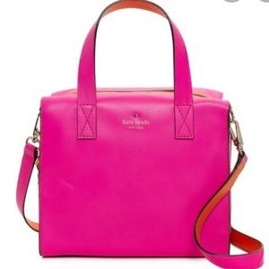 Kate Spade Little Kennedy bag in hot pink